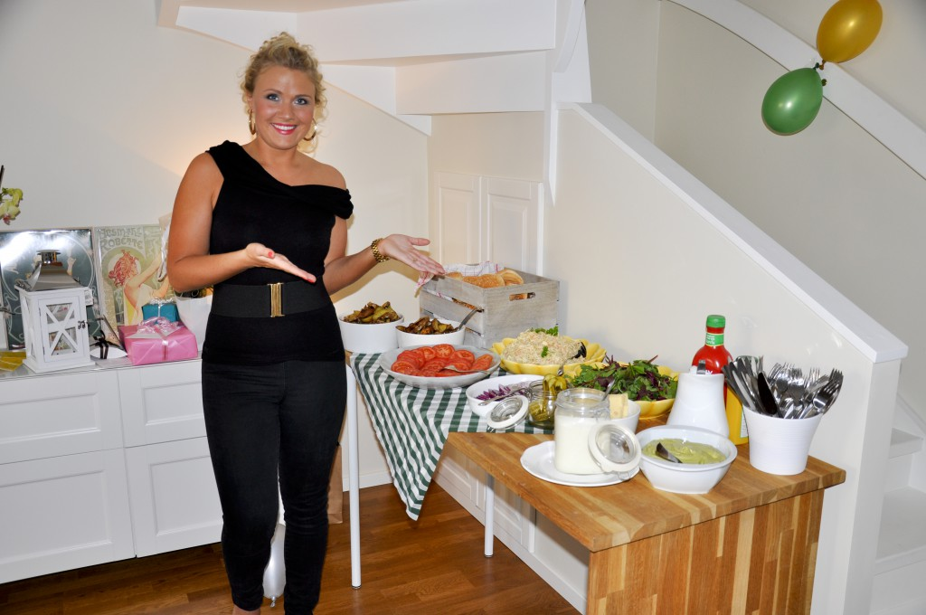20 års fest mat Make over, 30 års party och kompismys   Jills mat 20 års fest mat
