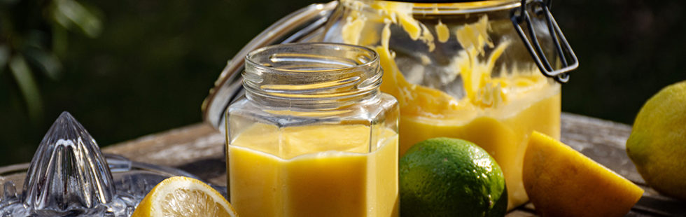 Sockerfri lemon lime curd