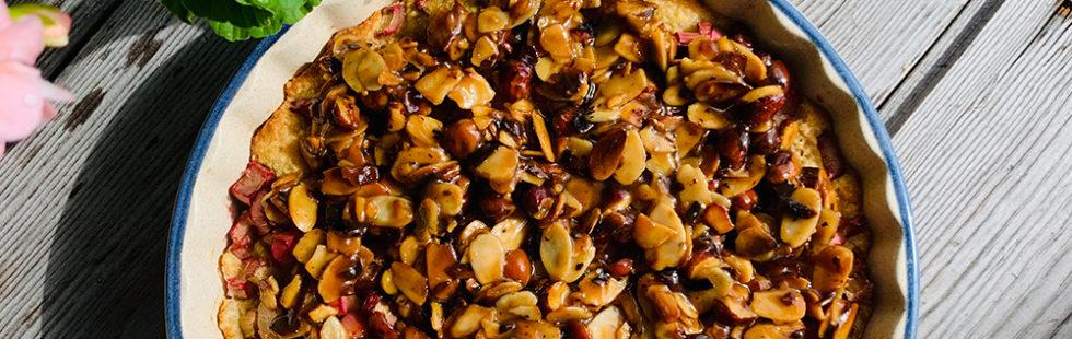 Jills socker- och glutenfria rabarbertosca (LCHF)